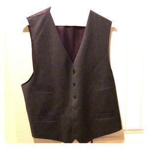 Jones New York Grey Pinstripe Suit